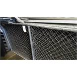CHAIN LINK BARRIER FENCING