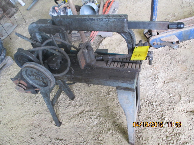 Lot 36 - Power hack saw