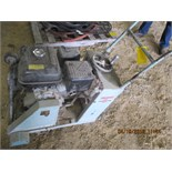 Target concrete saw w/Robin gas engine