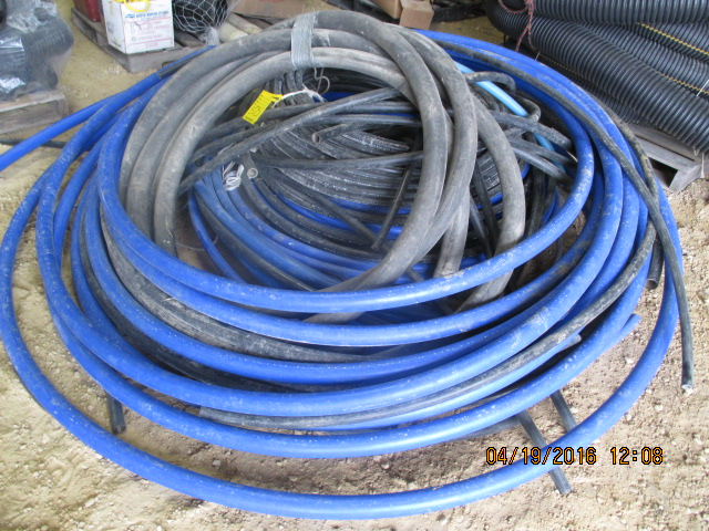 "Lot 50 - Various size water line, 3/4"", 2"""