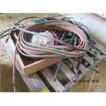 Torch hose, misc hose, throttle cable