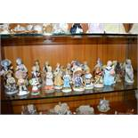 Twenty Eight Figures and Figurines