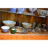 Kitchenalia; Bread Boards, Mixing Bowls, Jelly Mou