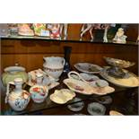 Pottery Items Including Meakin Meat Plates, Copela