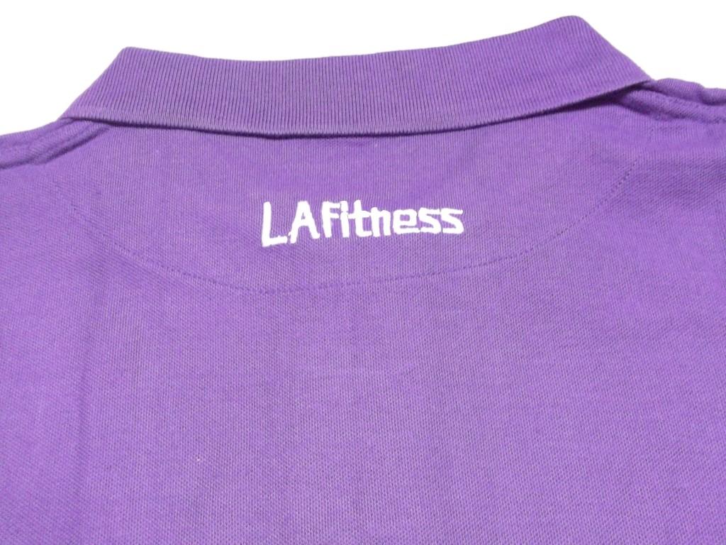 25 x la fitness branded polo shirts varoius sizes