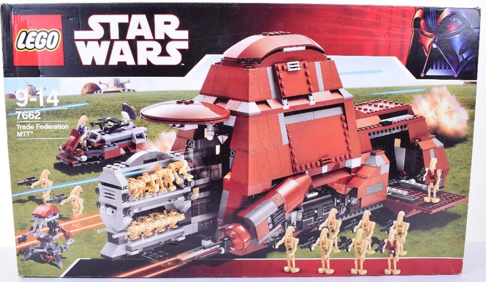 Lego Star Wars Trade Federation MTT, Set 7662-2007 issue