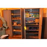 (2) DD SUPPLY CABINET WITH CONTENTS