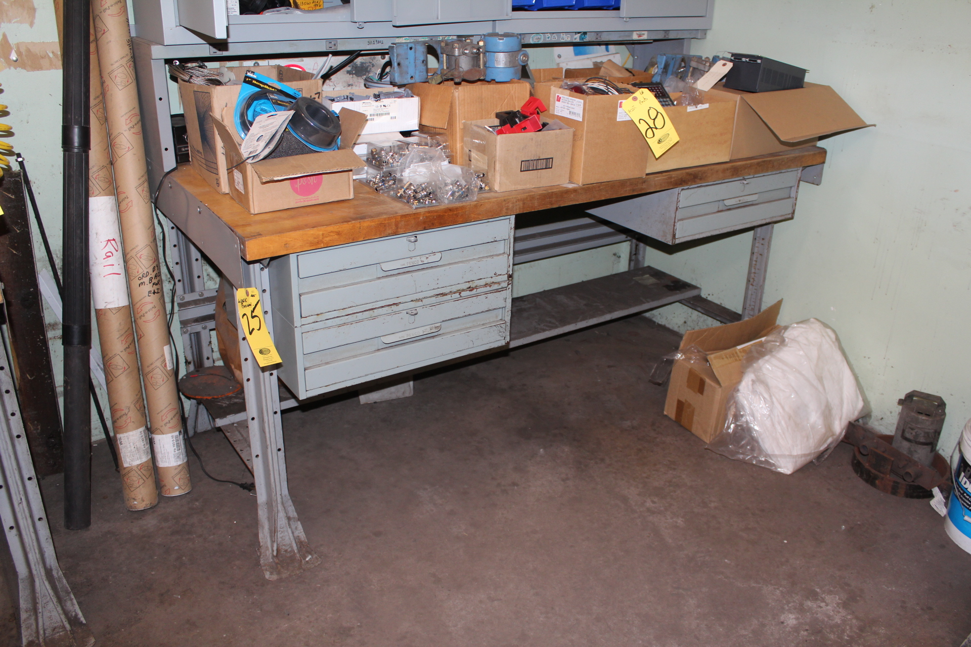 WORK BENCH -NO CONTENTS