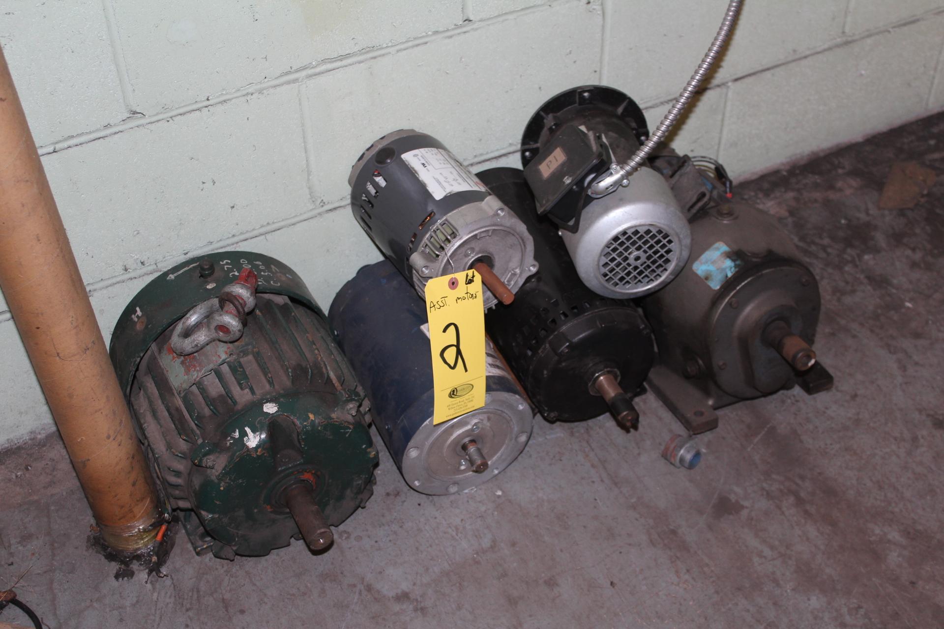 (6) ASST. ELECTRIC MOTORS