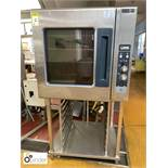 Bonnet 501A21 10-tray Combination Oven with stainless steel stand (located in Main Kitchen,