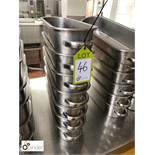 7 stainless steel Serving Dishes (located in Main Kitchen, Basement) **** please note this lot needs
