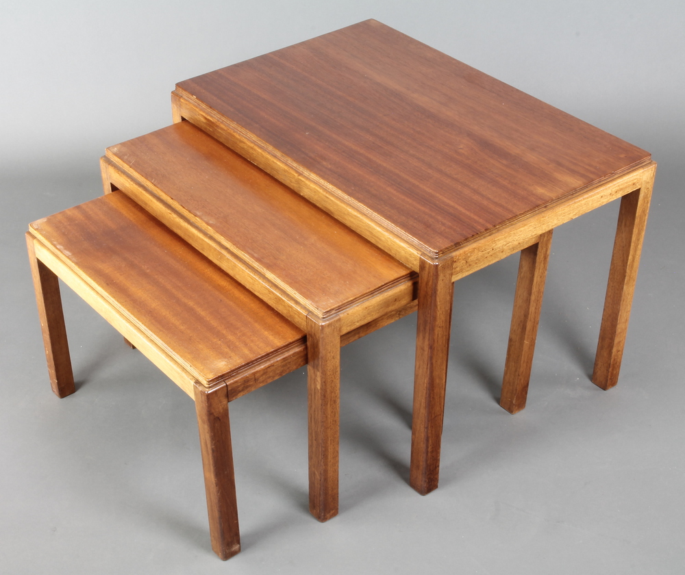 Gordon Russell Coffee Table Gordon Russell A Set Of 3 Rectangular Teak Interfitting Coffee