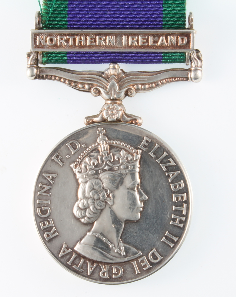 A Campaign Service Medal With Northern Ireland Bar To