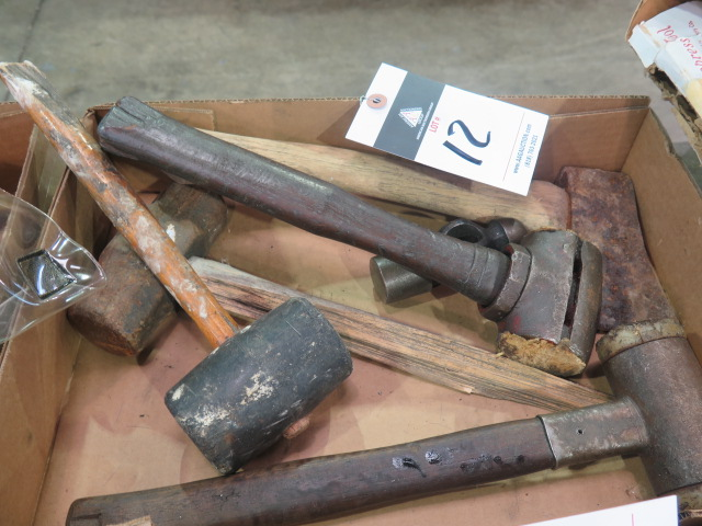 Lot 12 - Hammers and Mallots