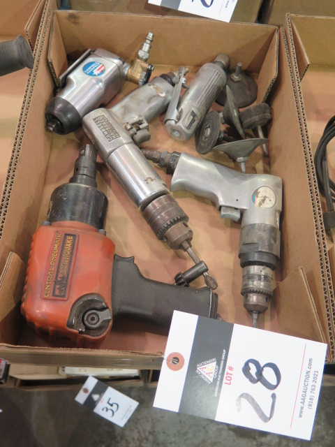 Lot 28 - Pneumatic Tools