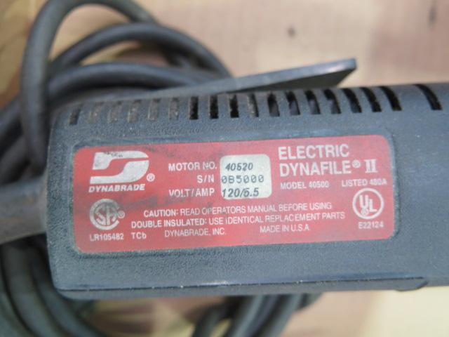 "Lot 25 - Dynabrade 1/2"" Electric Balt Sandewr"