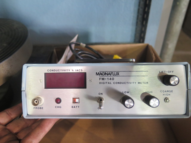 Lot 228 - Magneflux FM-140 Digital Conductivity Meter