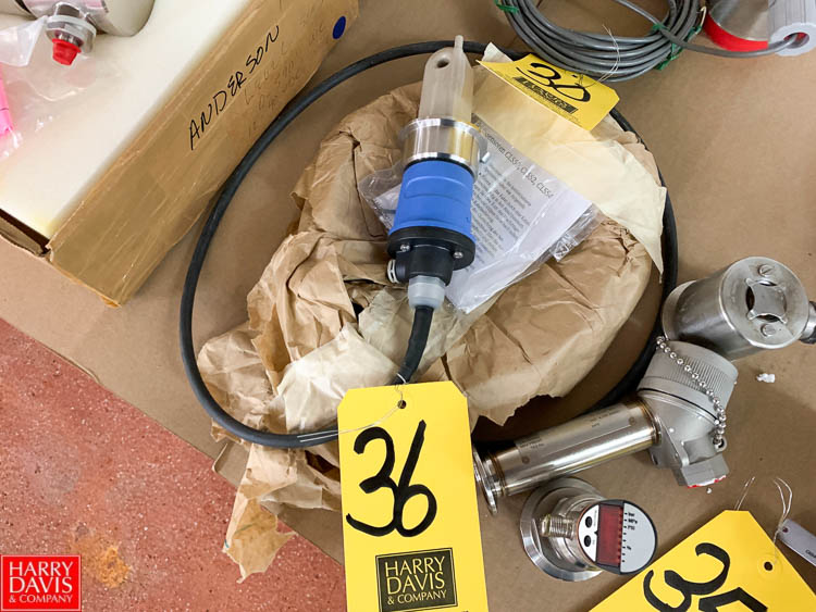 Lot 36 - (4) NEW IFM, Anderson and other RTD Sensors - Rigging Fee: $ 35