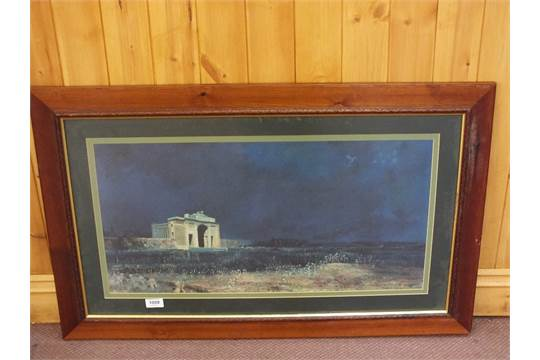 A print of will longstaffs menin gate at midnight painted in auction date freerunsca Image collections