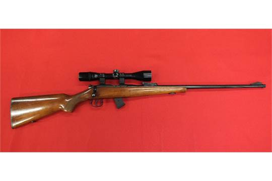 A BRNO model 2 bolt action rifle  22 rimfire calibre s/no
