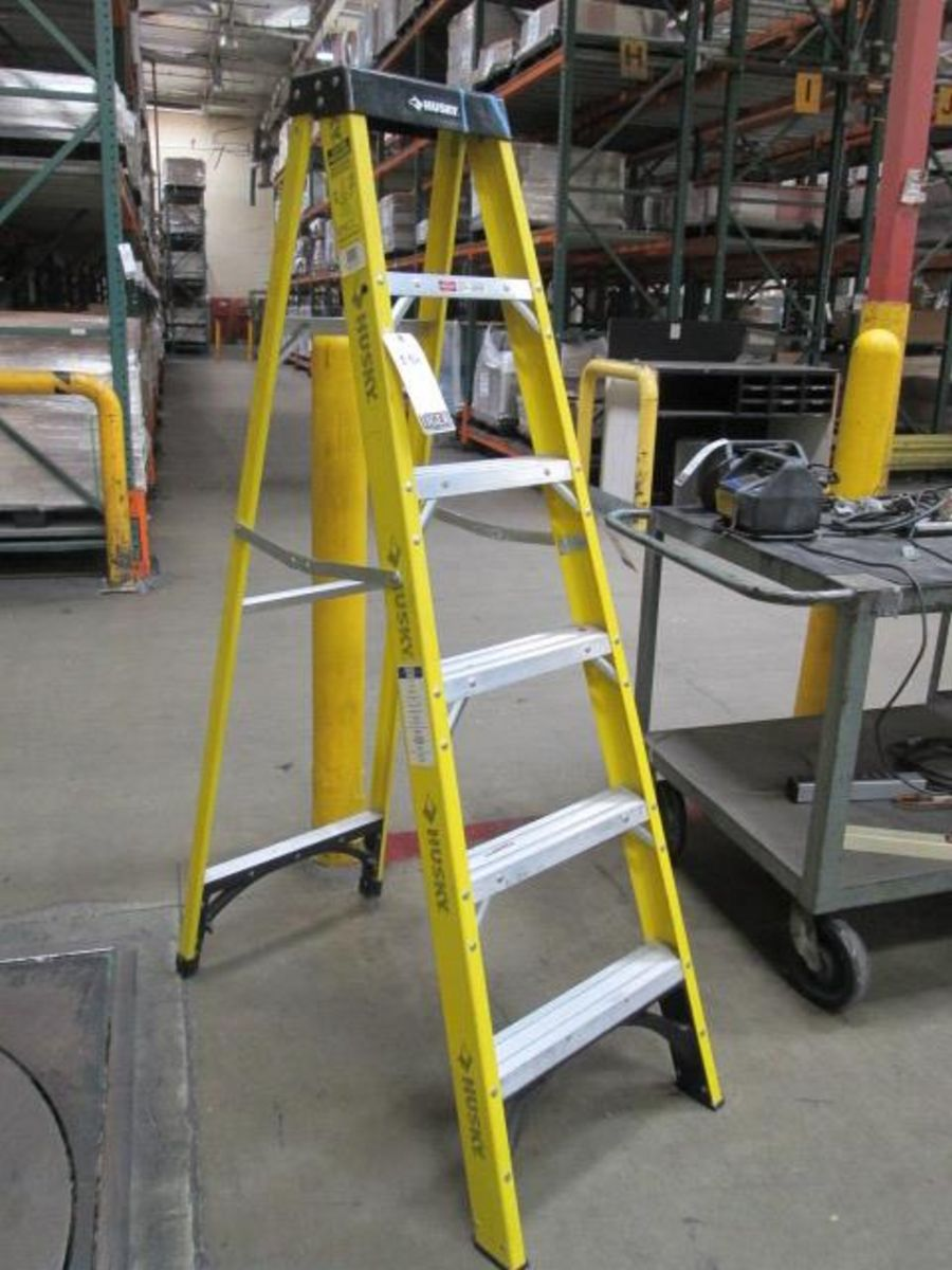 Husky 6ft ladder mn 01 46000 00 type 1 rating maximum lot 2186 husky 6ft ladder mn 01 46000 00 sciox Images