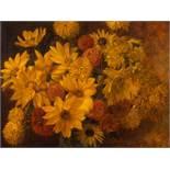 Marcel Kammerer (1878-1959), Painting, Flower Still Life, 1925