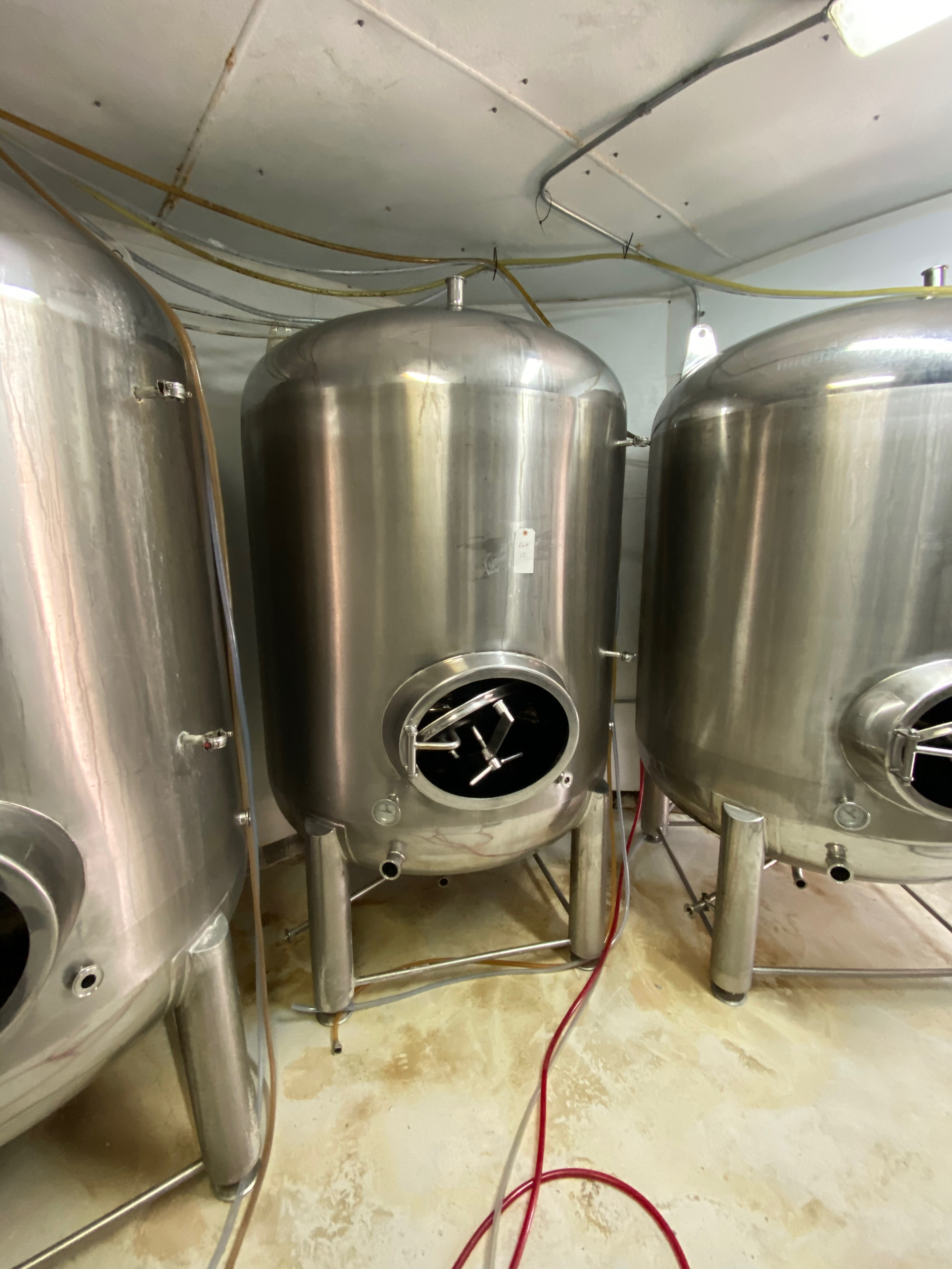 2014 Criveller 20 BBL Brite Tank, 304 Stainless Steel, Single Wall, D | Sub to Bulk | Rig Fee: $350