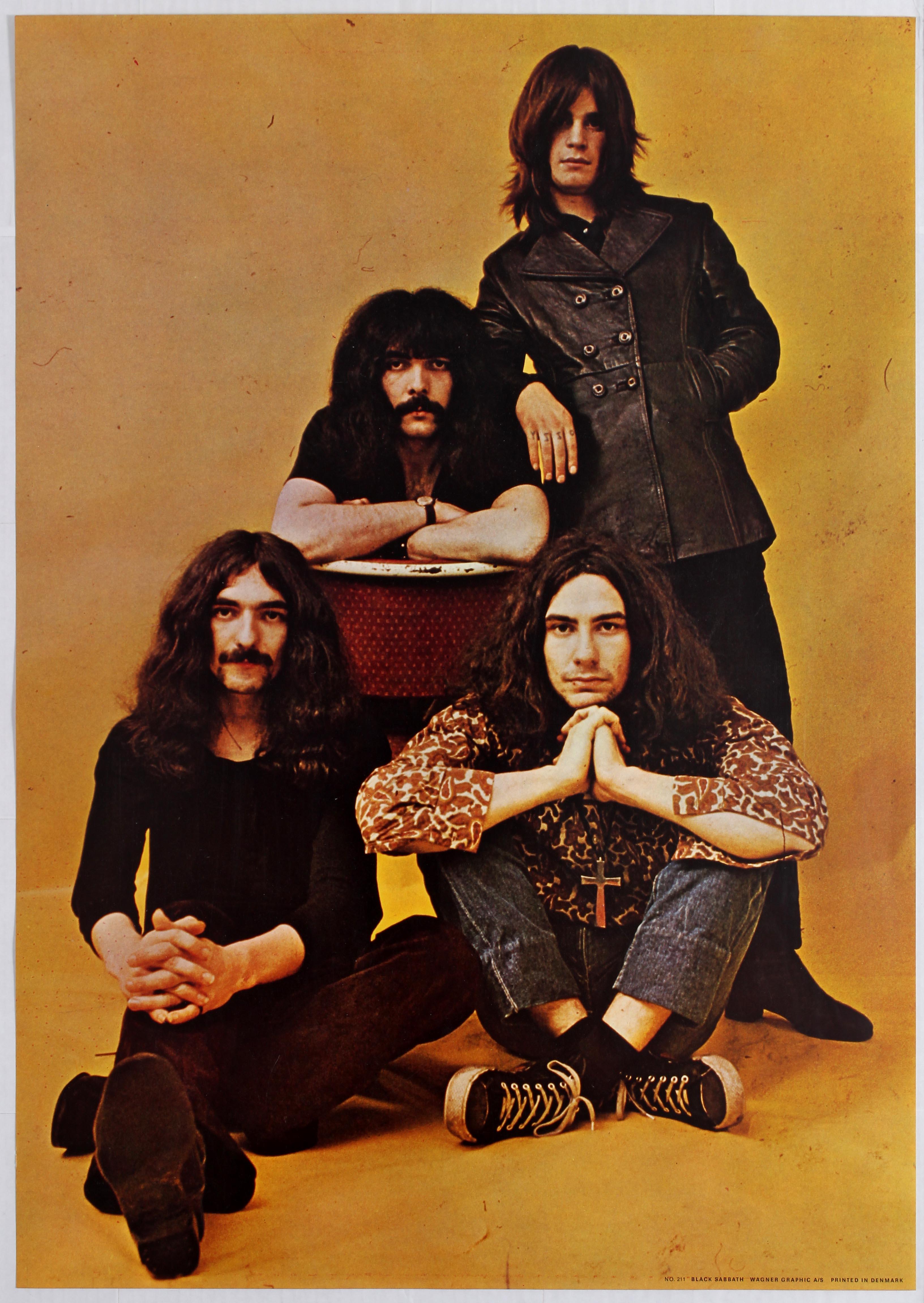 Lot 1705 - Advertising Poster Black Sabbath