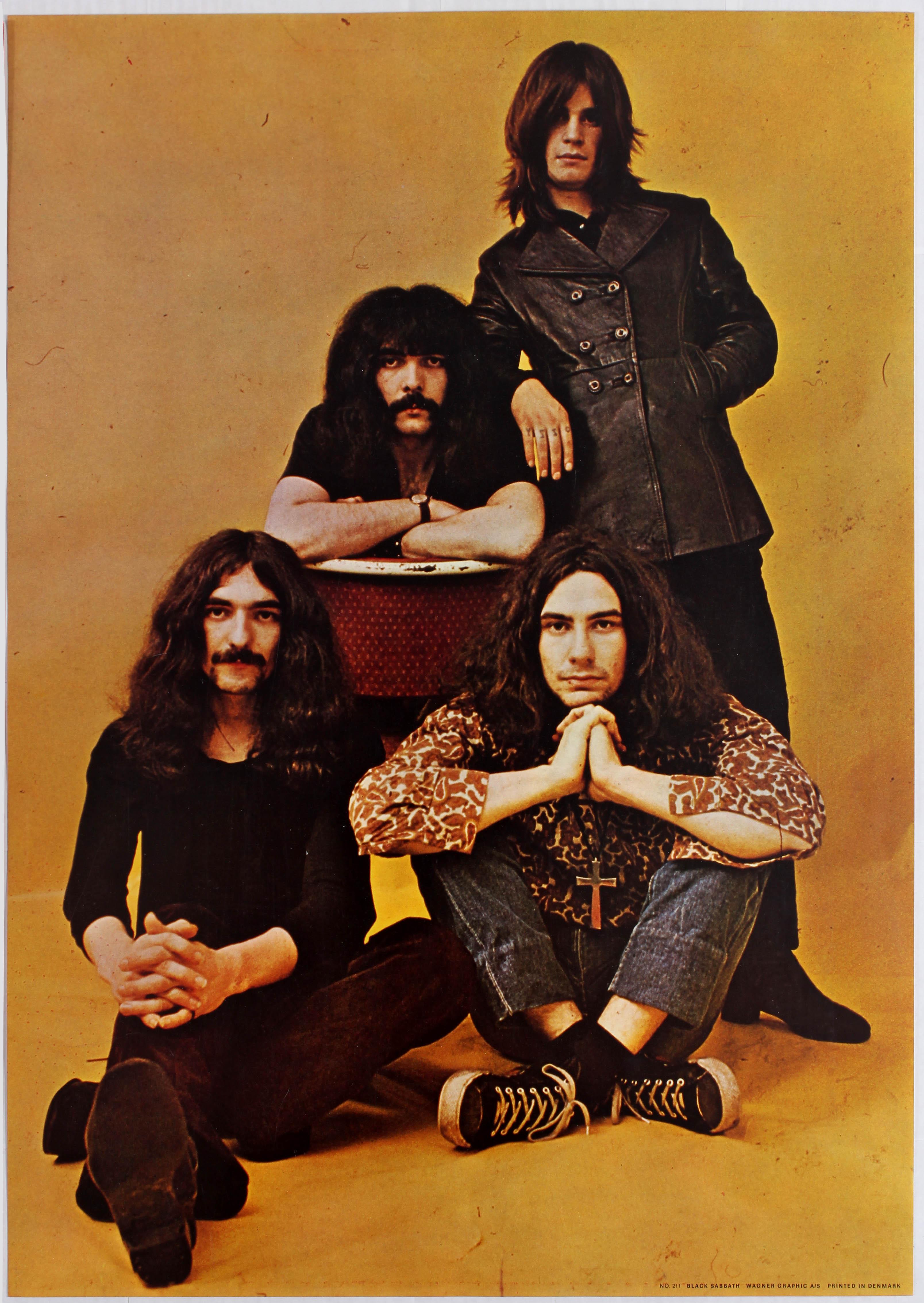 Lot 1706 - Advertising Poster Black Sabbath