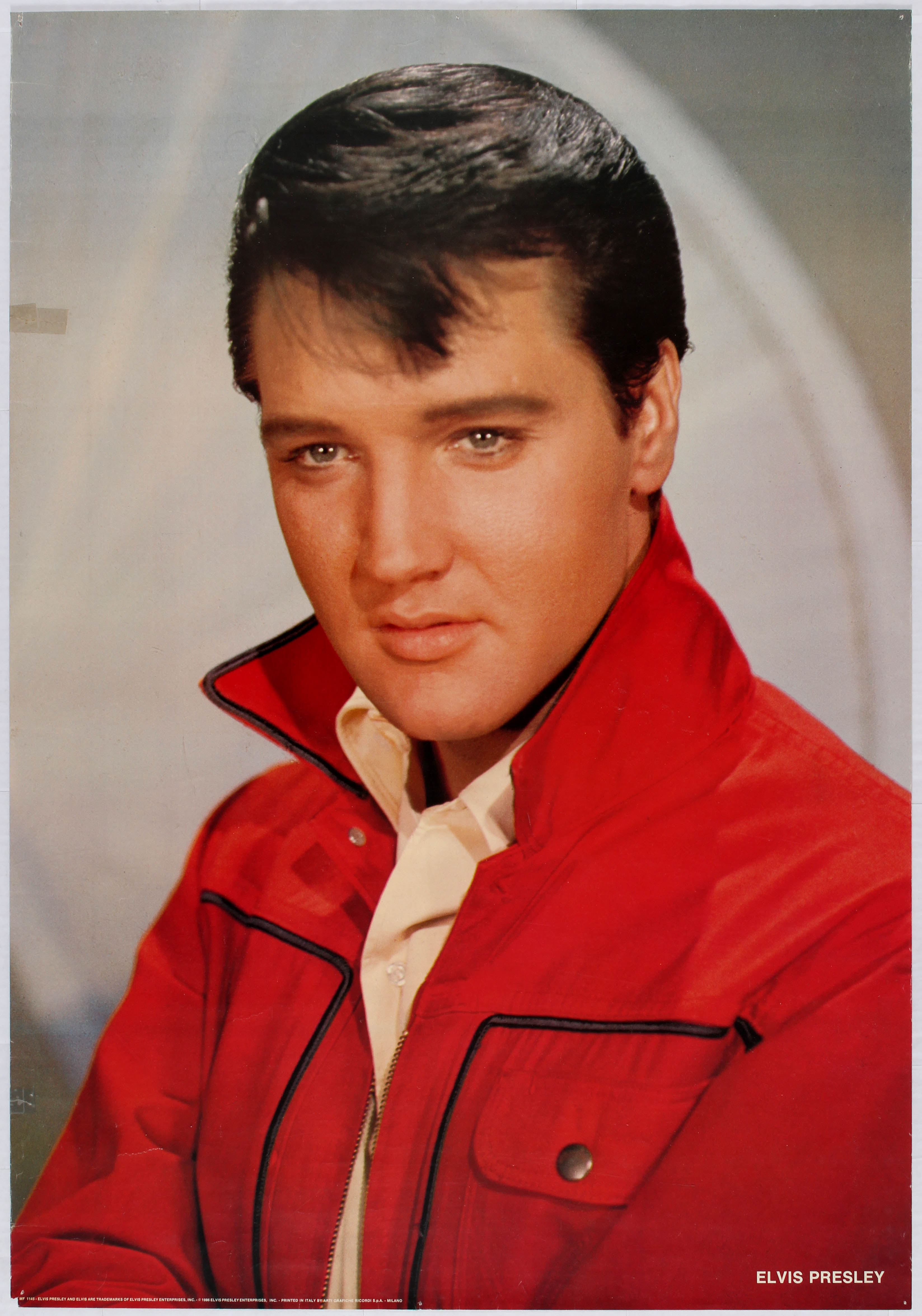 Lot 1800 - Advertising Poster Elvis Presley