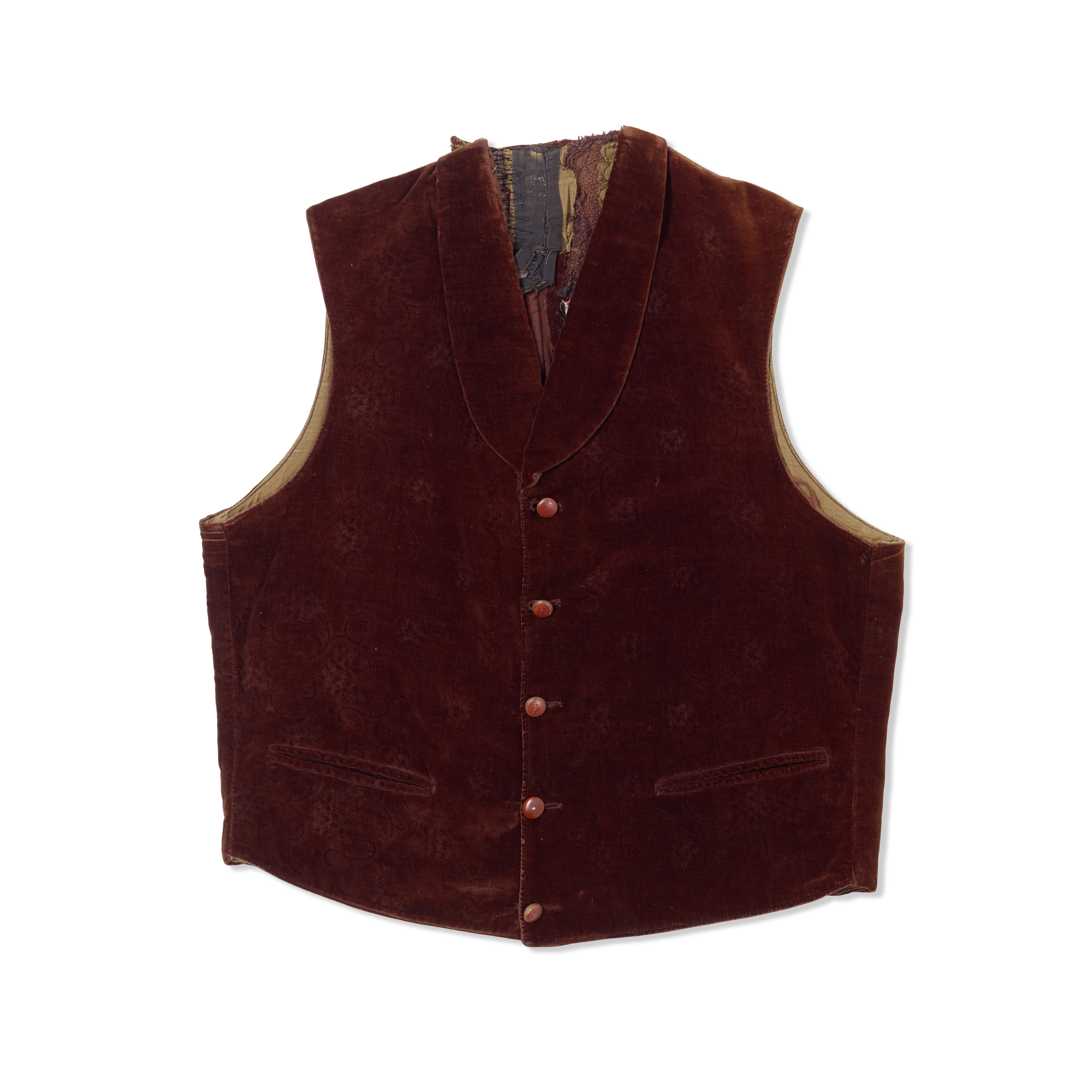 A Harry Davenport vest from Gone With the Wind