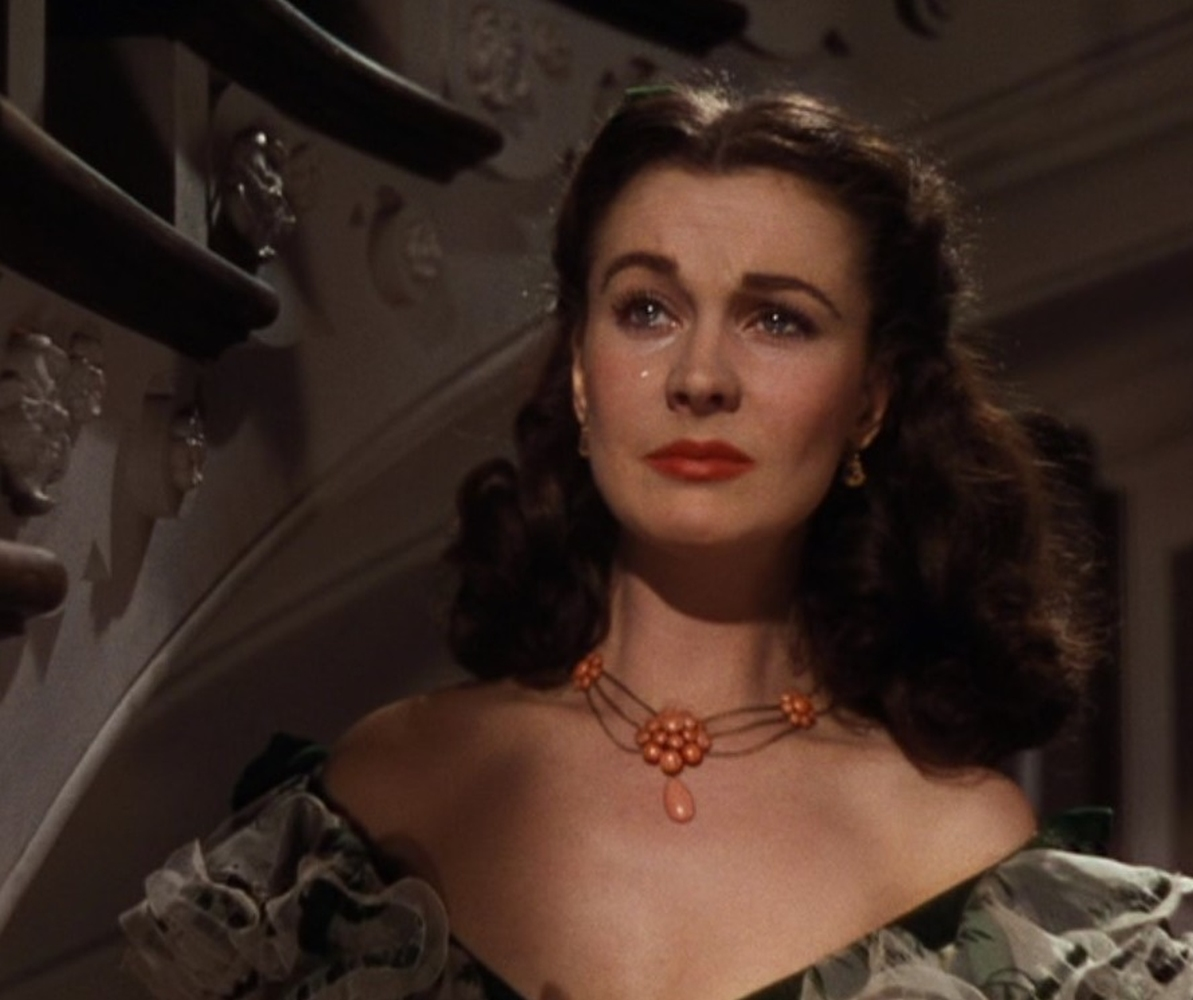 A Vivien Leigh coral necklace worn at the Twelve Oaks barbeque in Gone With the Wind - Image 3 of 5