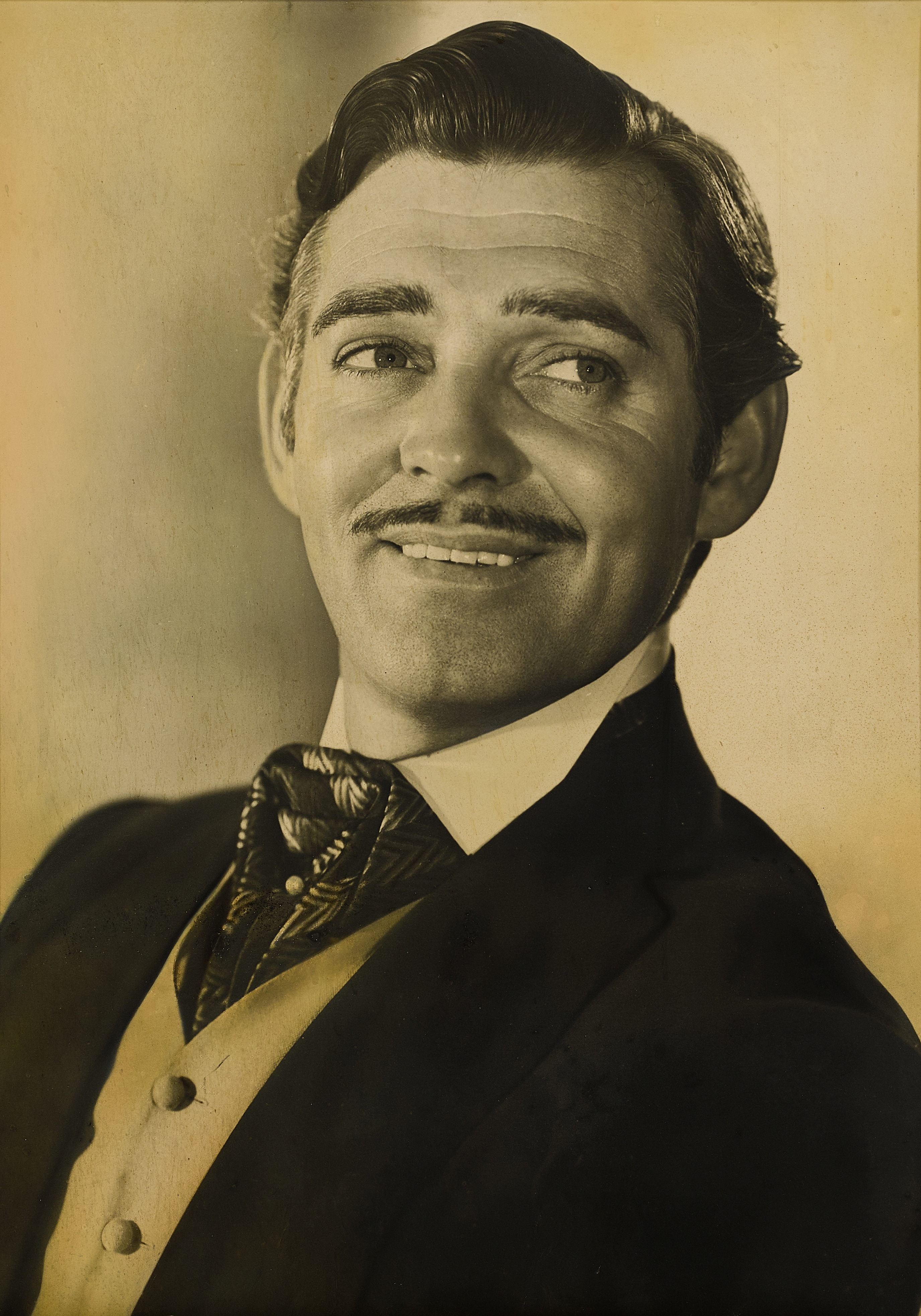 A Clark Gable oversized lobby portrait for Gone with the Wind