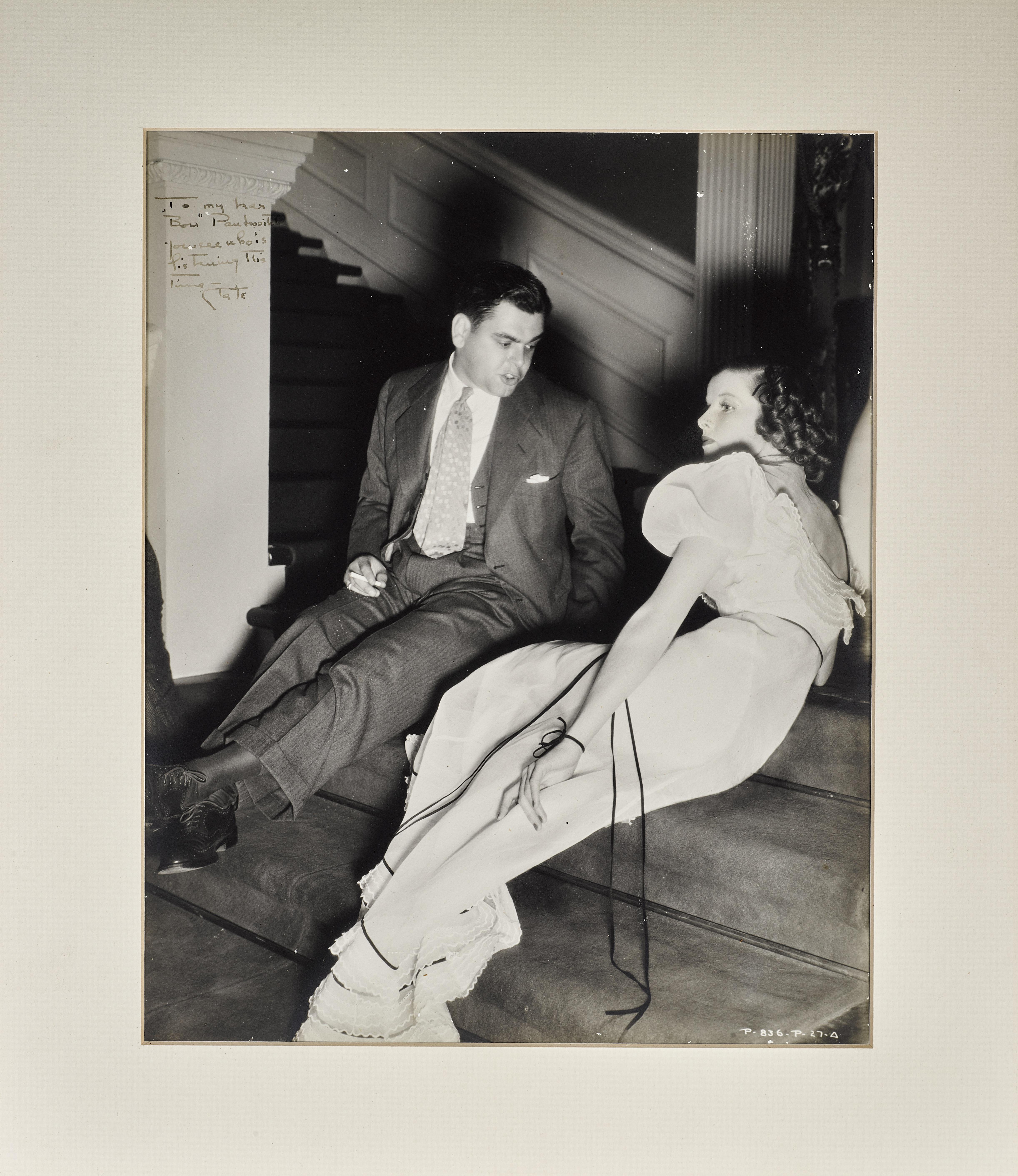 A Katharine Hepburn signed photo to Pandro Berman