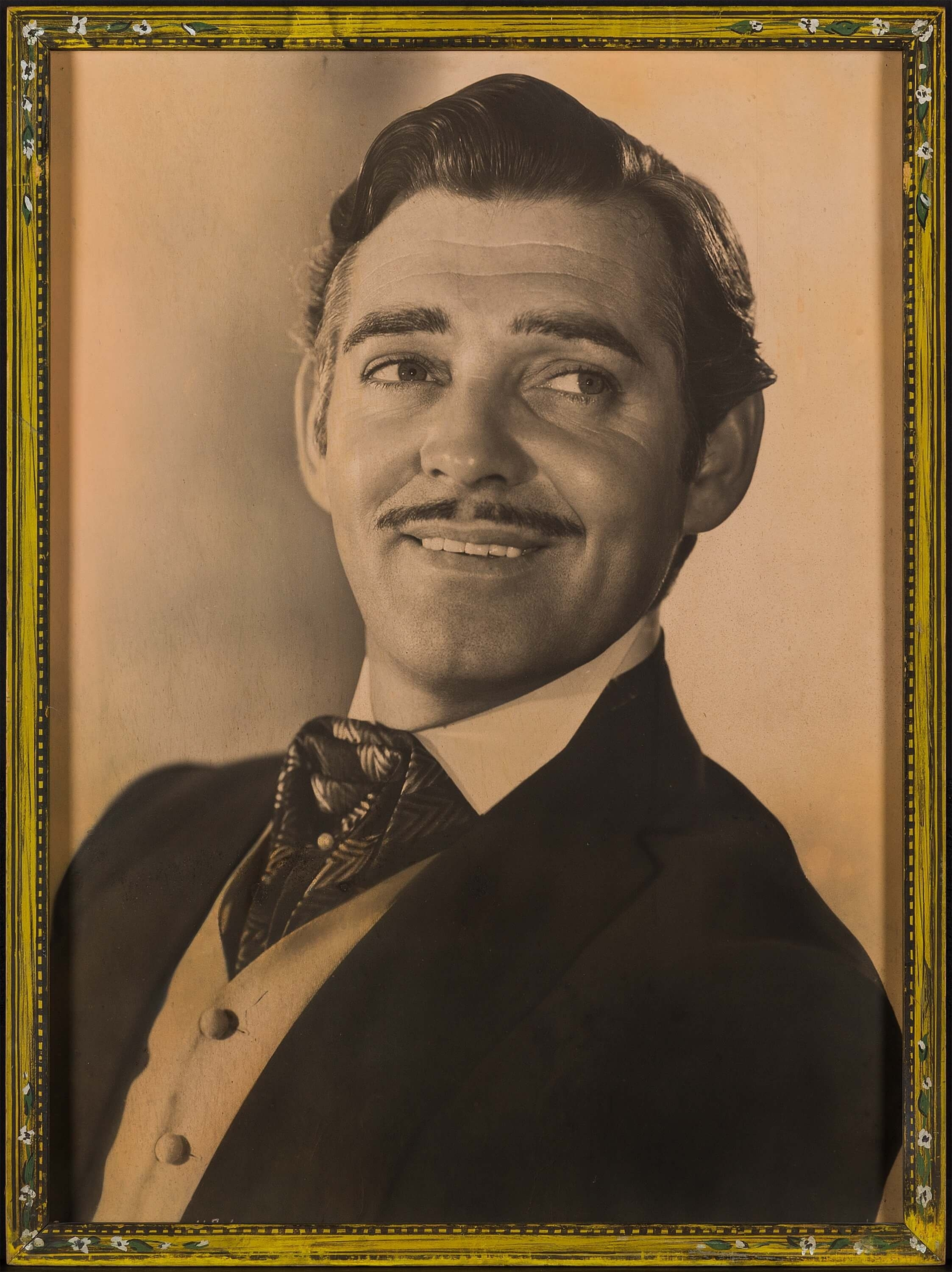 A Clark Gable oversized lobby portrait for Gone with the Wind - Image 2 of 2