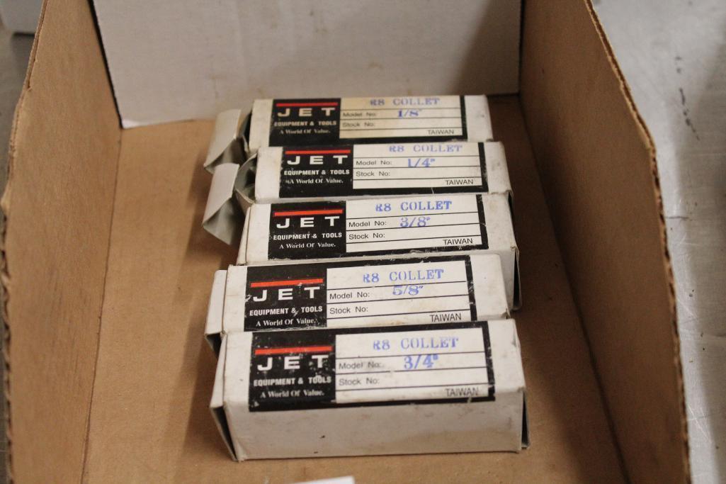 Lot 58 - Jet R-8 collet set