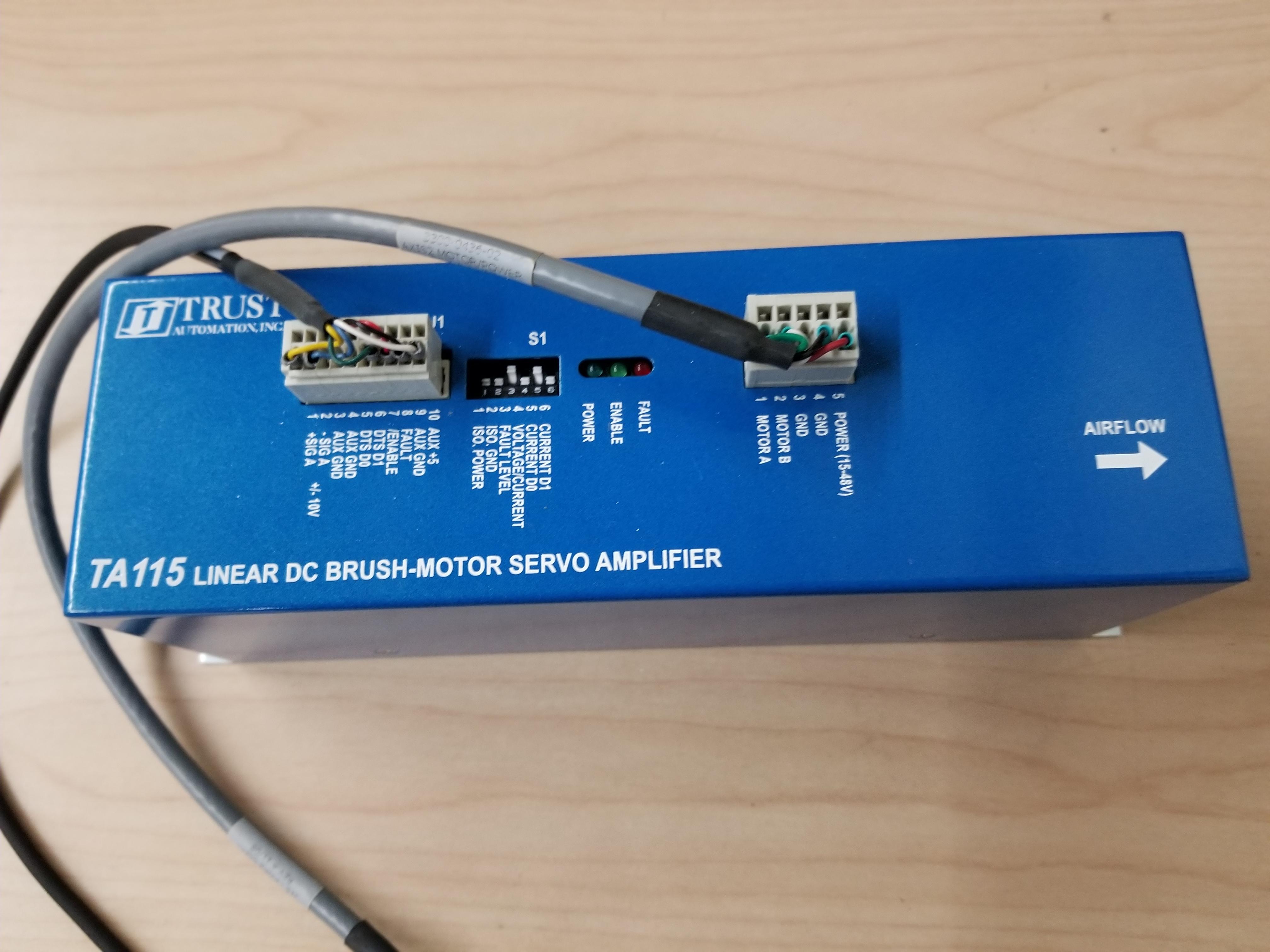 Trust Automation Linear DC Brush Motor Servo Amplifier - Image 2 of 2