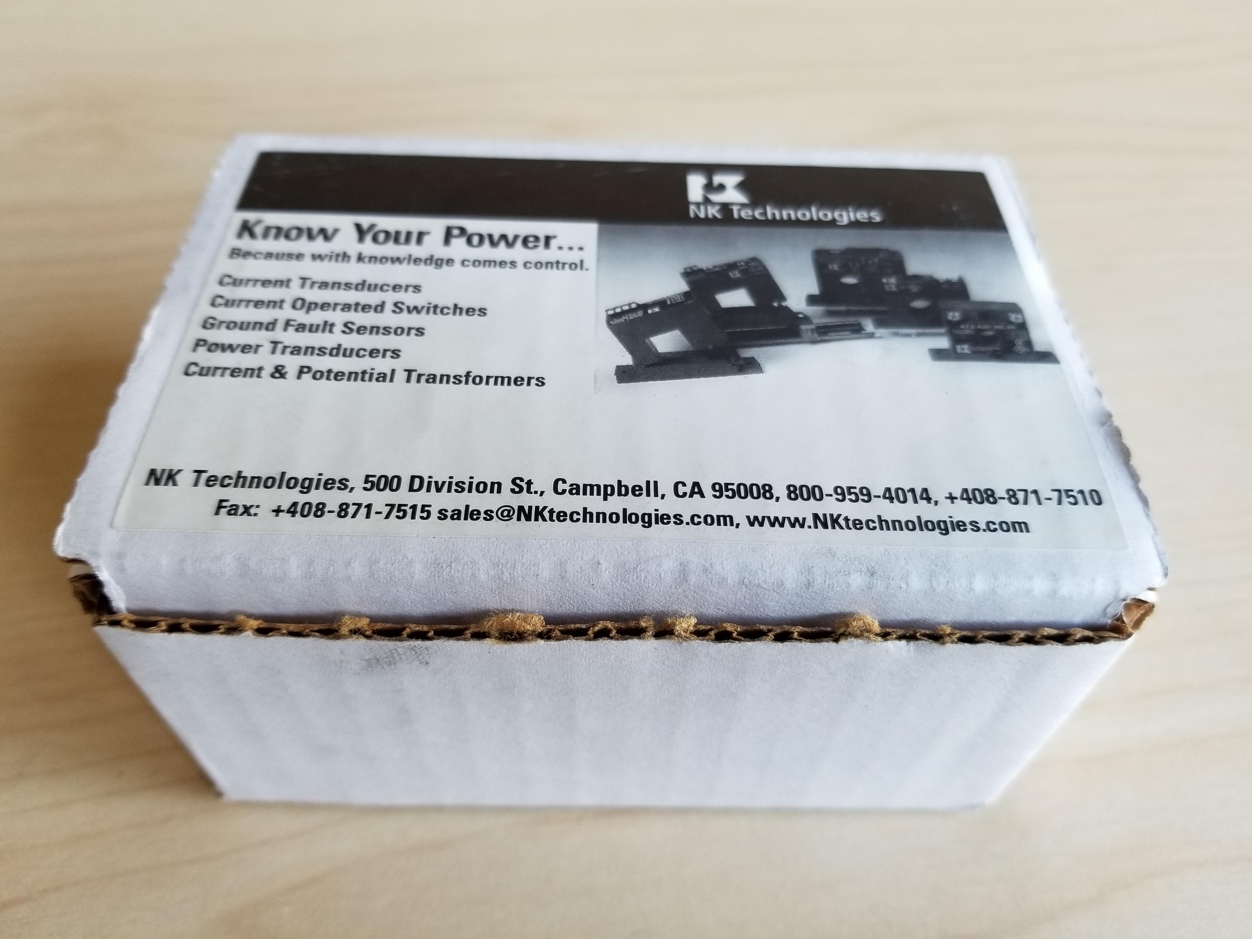 New NK Technologies Split Core True RMS AC Current Transducer
