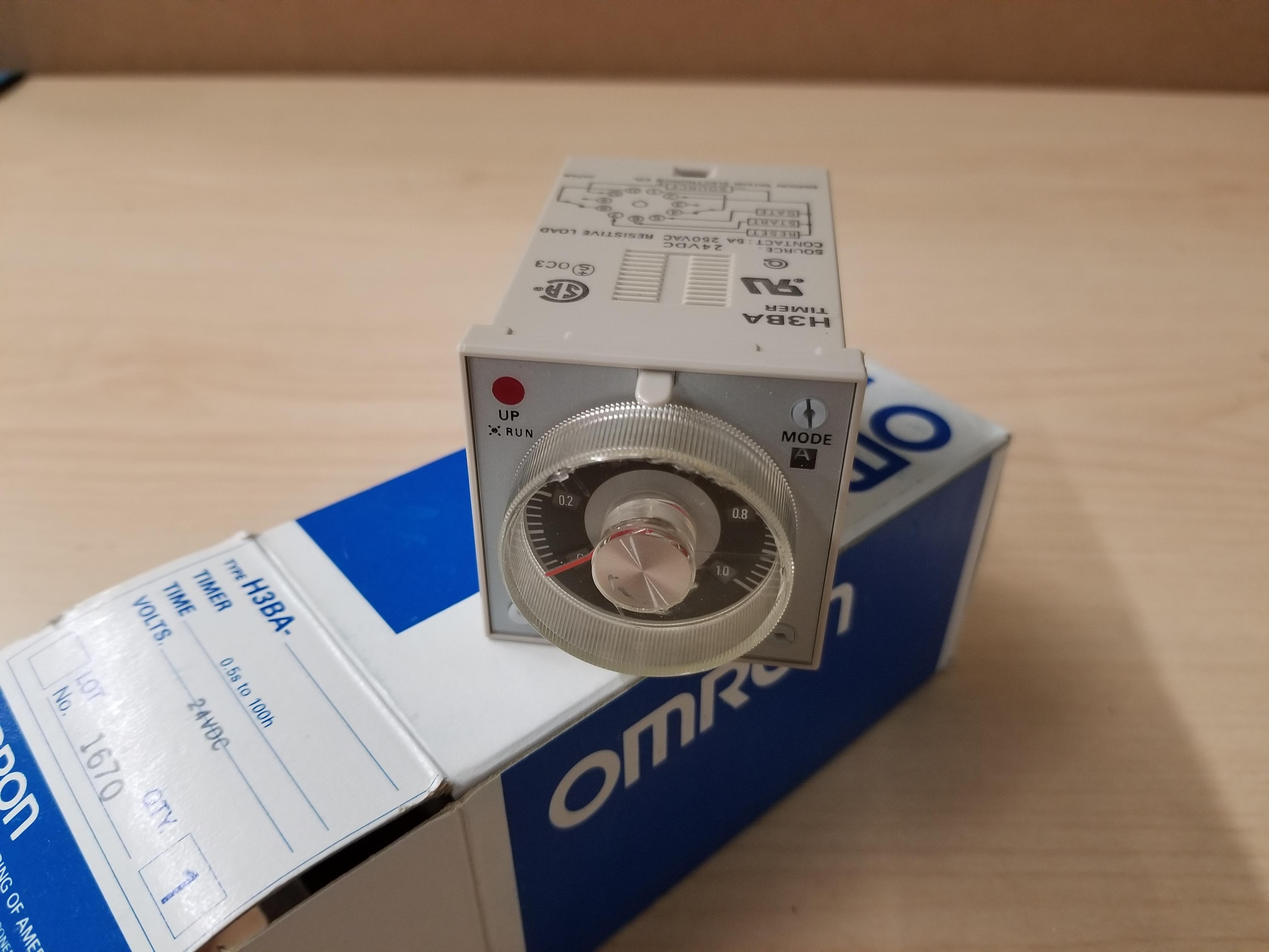 New Omron Timer H3BA - Image 2 of 3