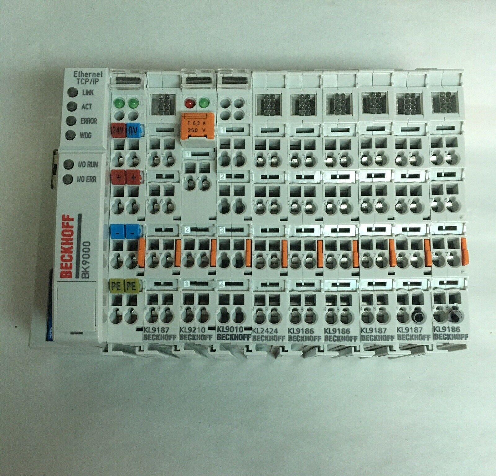 Beckhoff BK9000 PLC Terminal Module Rack