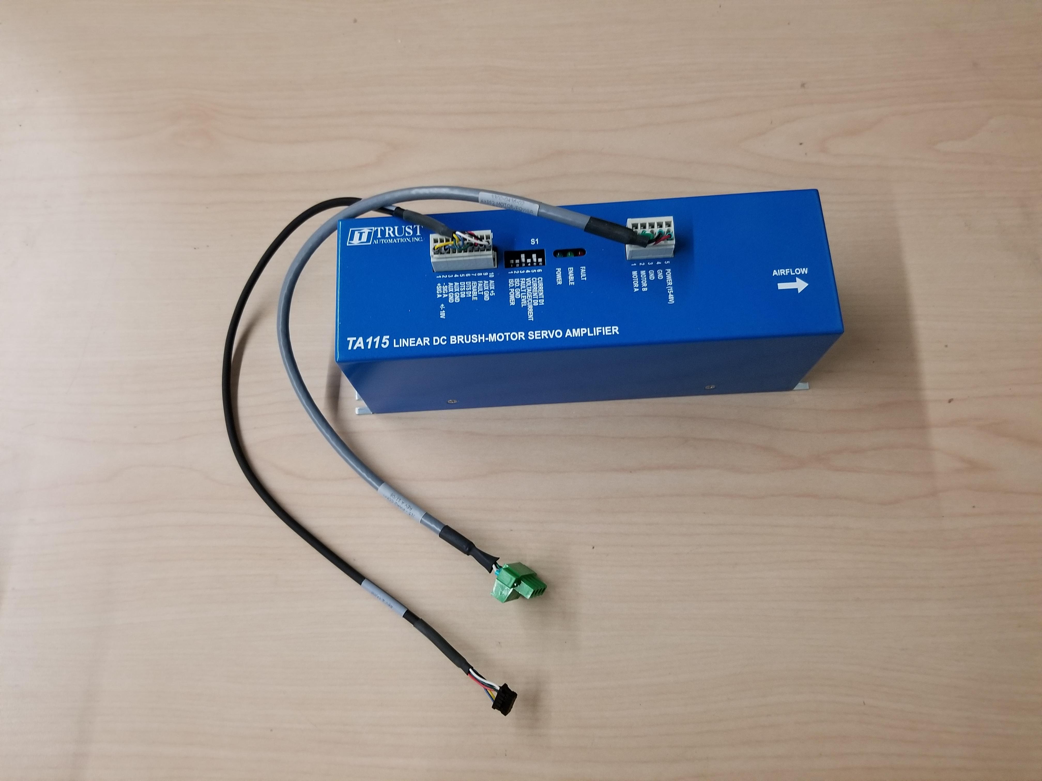 Trust Automation Linear DC Brush Motor Servo Amplifier