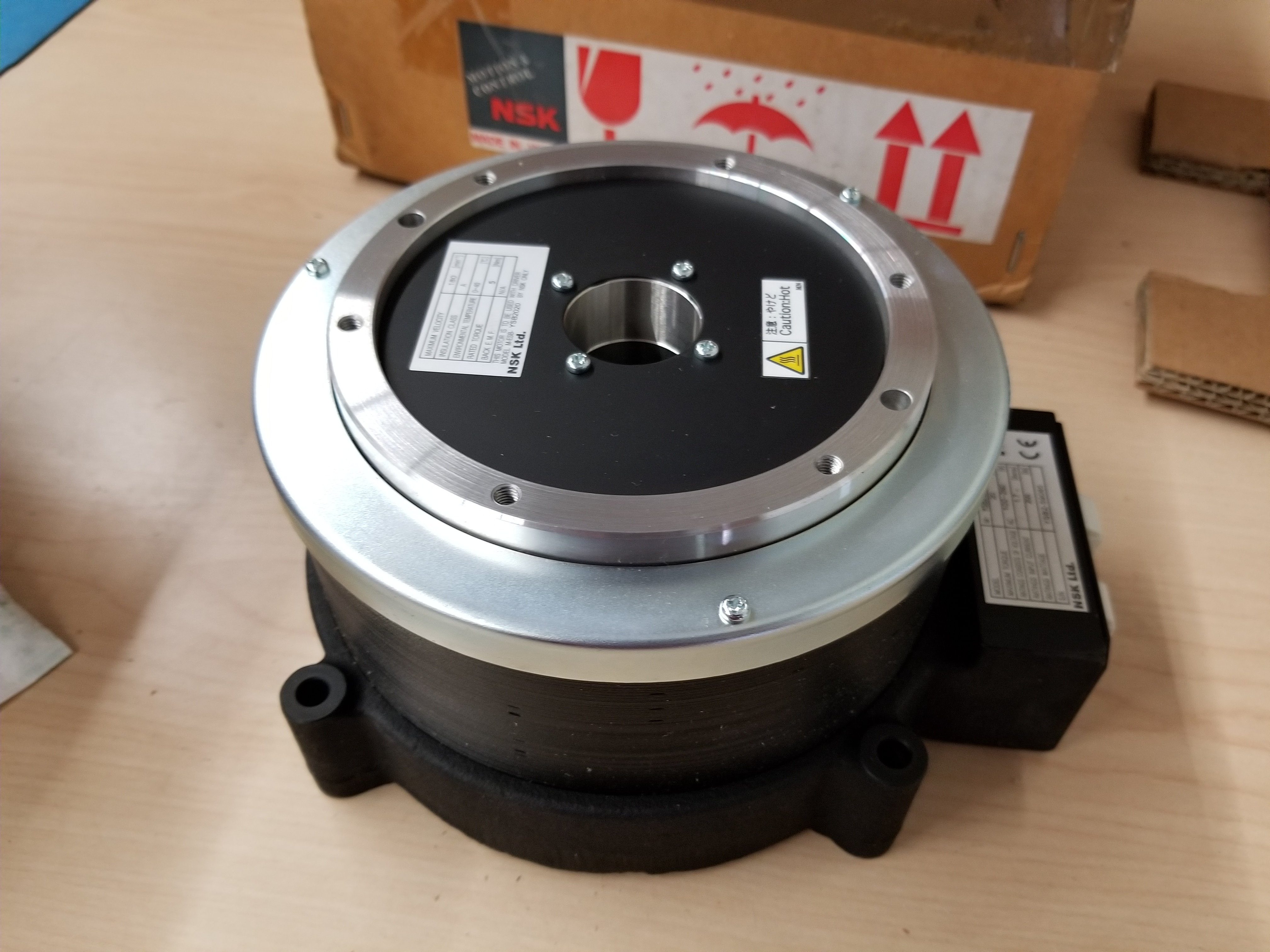 New NSK Megatorque Motor With Used ESB Drive And Pendant - Image 3 of 19
