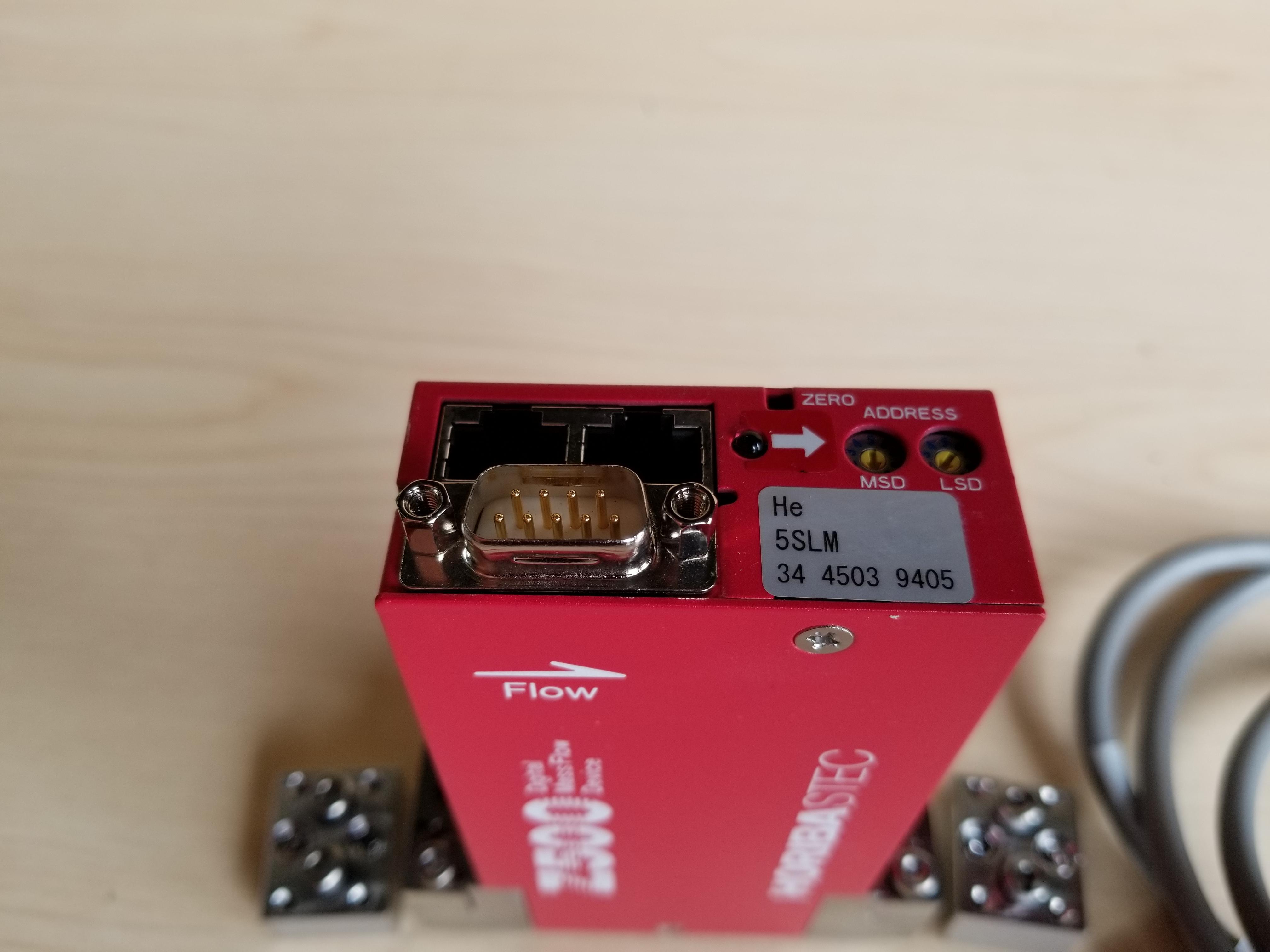 Horiba STEC Z500 Digital Mass Flow Controller - Image 3 of 9