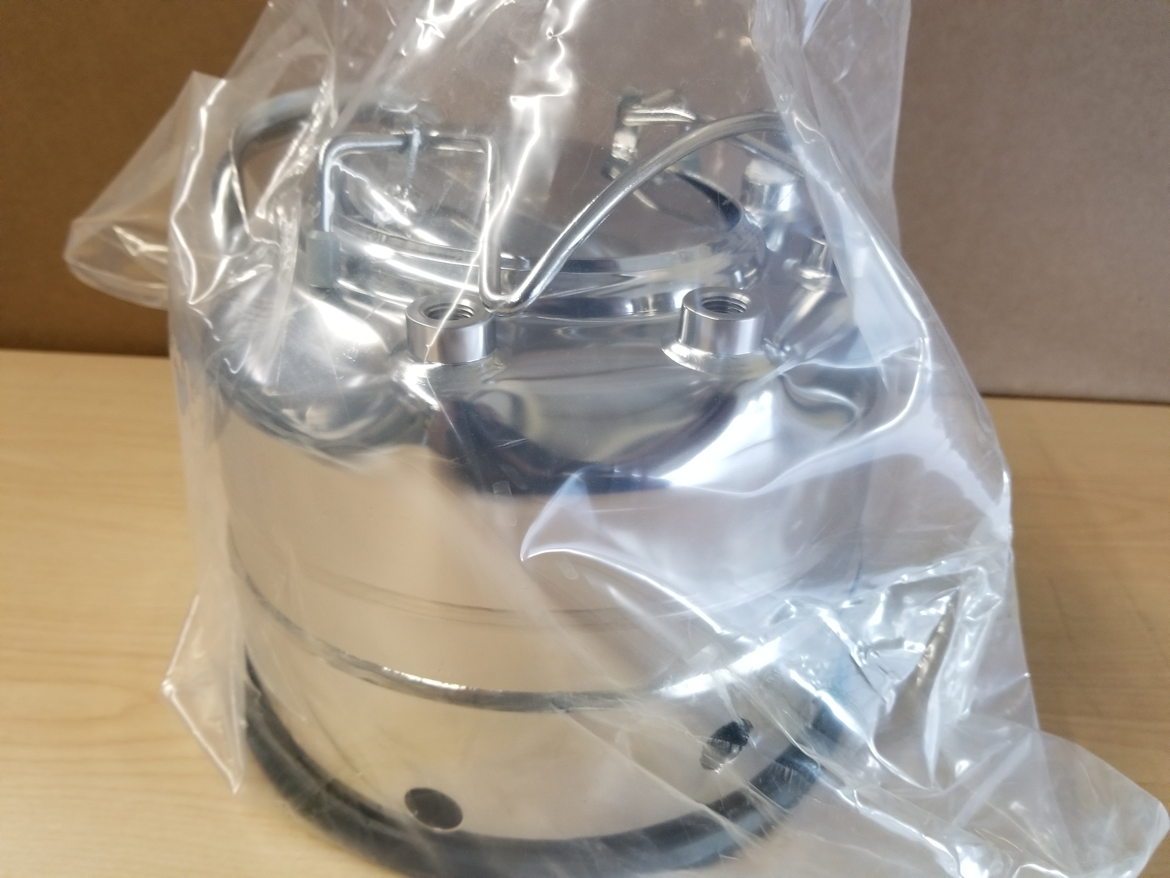 New Alloy Products 316L Stainless Steel Pressure Vessel - Image 2 of 12