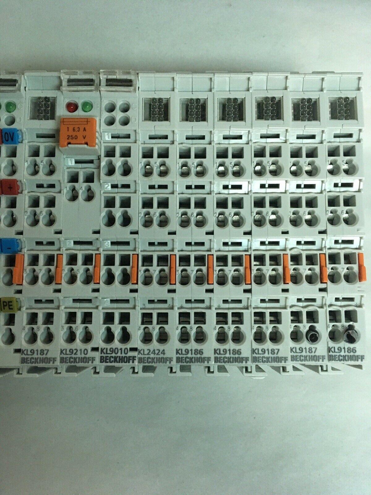 Beckhoff BK9000 PLC Terminal Module Rack - Image 2 of 2