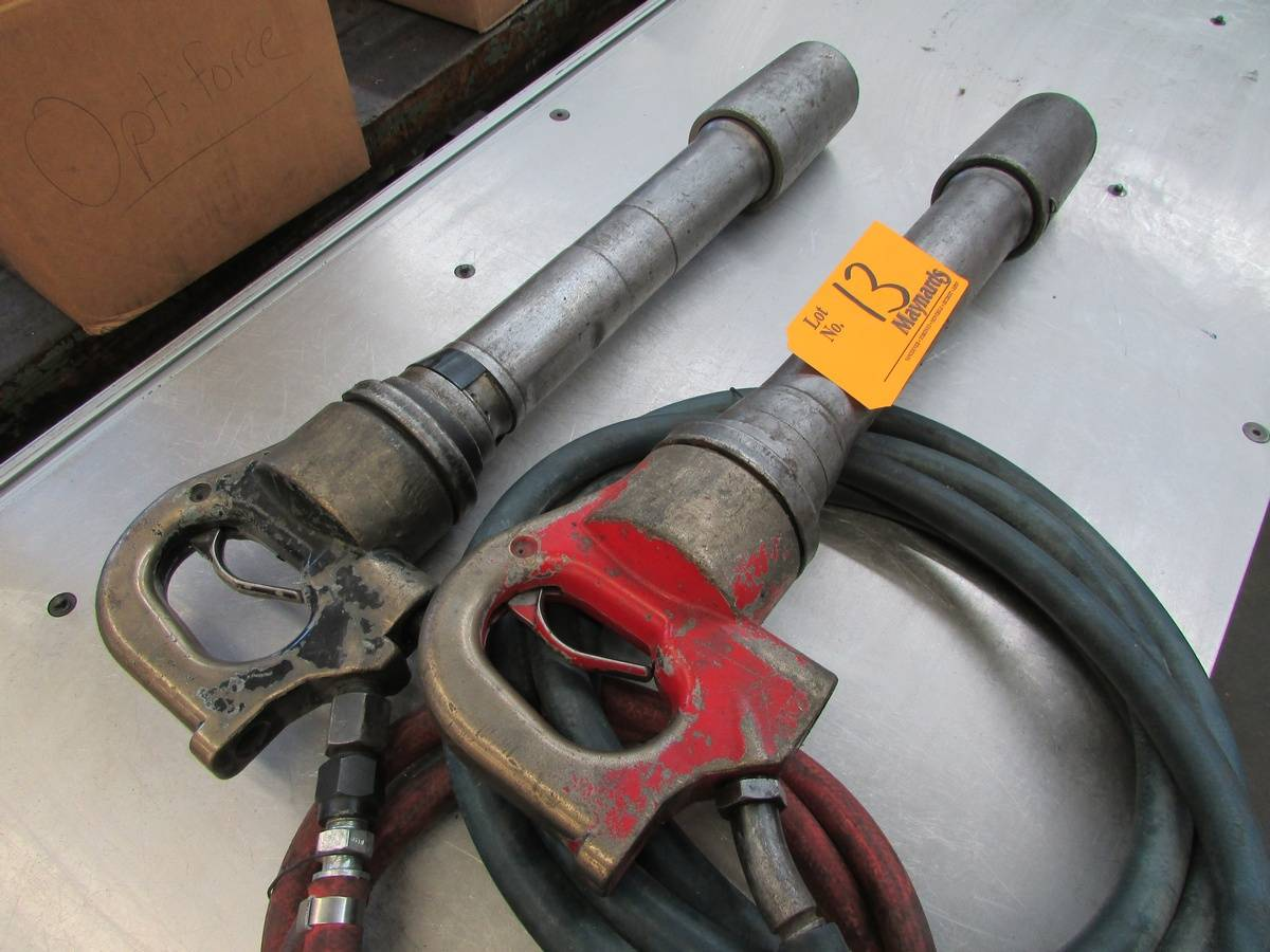 Heavy Duty Pneumatic Chipping Hammers - Image 3 of 3