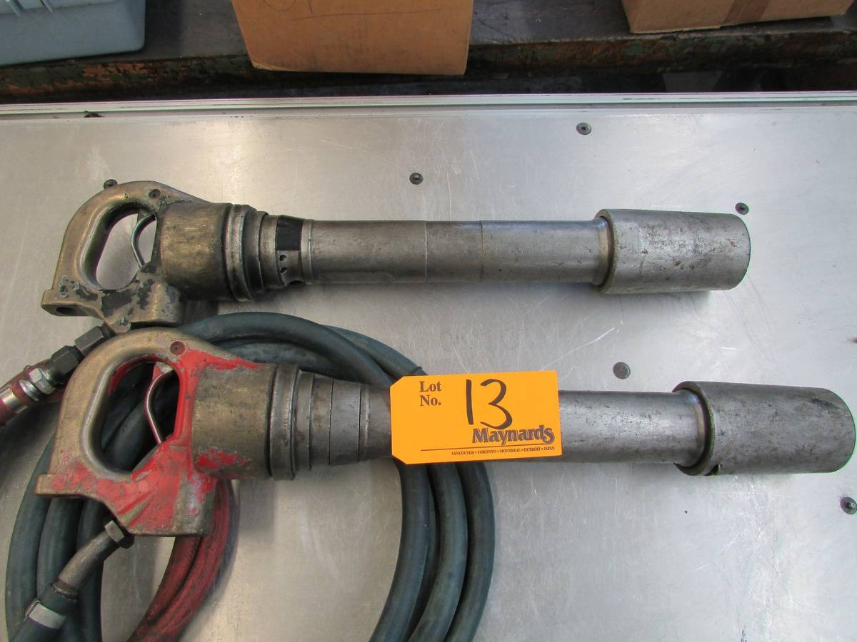 Heavy Duty Pneumatic Chipping Hammers - Image 2 of 3