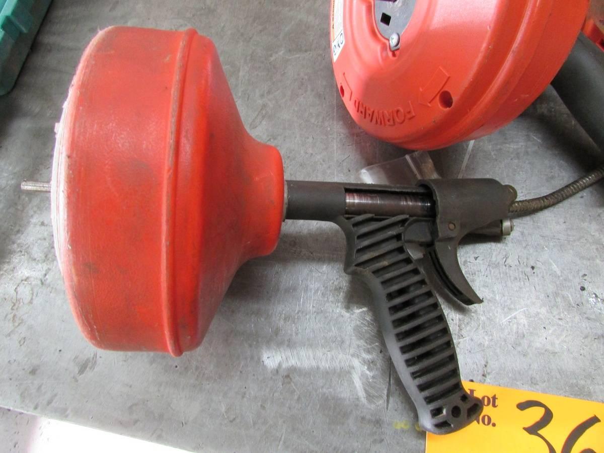 Ridgid Powerspin Drain Cleaners - Image 2 of 4