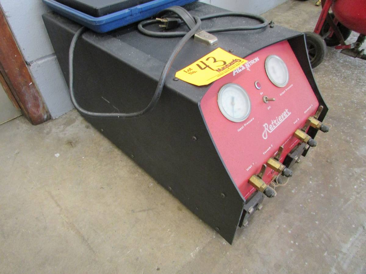 AES Ntron R-2.2C Commercial Refrigerant Recycling Machine - Image 2 of 5