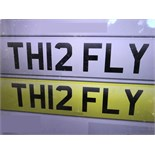 TH12 FLY - PRIVATE PLATE - ON RETENTION CERTIFICATE